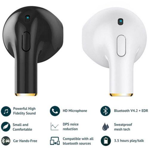 TWS Mini Wireless Earphone Bluetooth Headset Sports Earbuds For iPhone Samsung