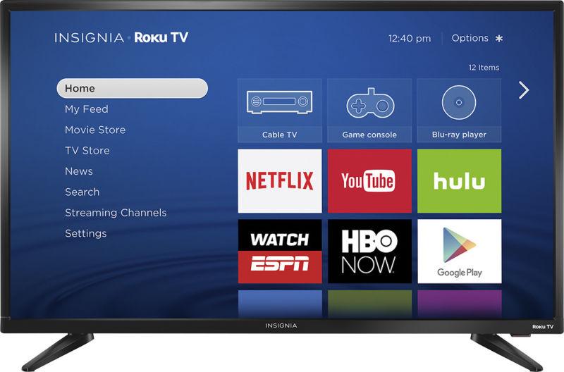 Insignia- 32″ Class – LED – 720p – Smart – Roku TV