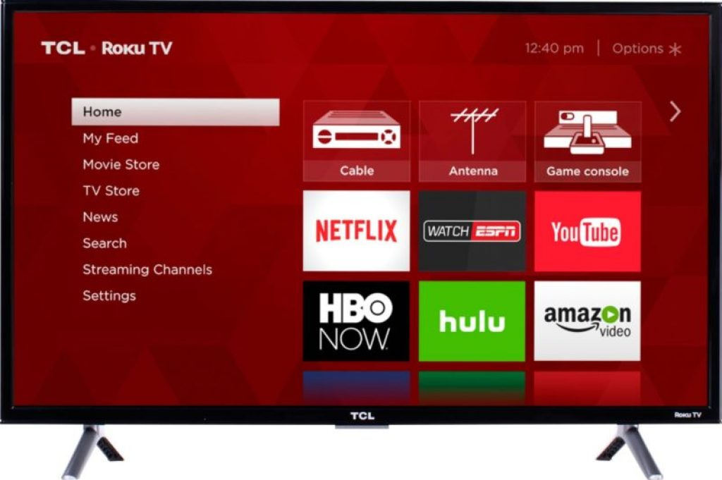 TCL – 32″ Class (31.5″ Diag.) – LED – 3-Series – 720p – Smart – HDTV Roku TV