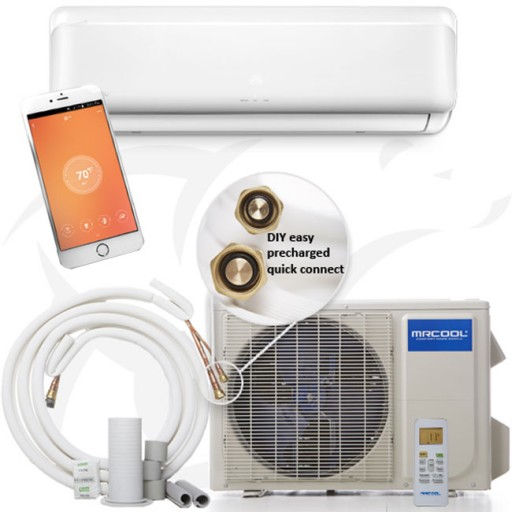 12 Ft Line Set Cover Kit Mini Split and Central Air Conditioner & Heat